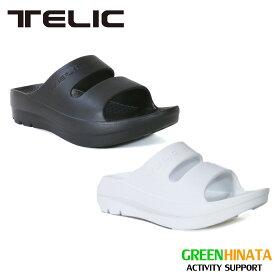 【国内正規品】 テリック ダブルストラップスライド 厚底 サンダル TELIC W-STRAP SLIDE
