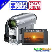 ☆レンタルビデオカメラミニDV☆6泊7日SONYソニーDCR-HC62カメラ