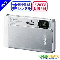 ☆レンタル防水ハイビジョンデジタルカメラ☆6泊7日SONYソニーDSC-TX30デジタルスチルカメラ
