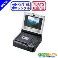 ☆レンタルミニDVビデオカセットレコーダー☆6泊7日SONYソニーGV-D1000MiniDVデジタル