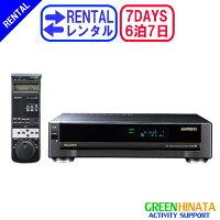 ☆レンタルHiBandBetaビデオカセットレコーダー☆6泊7日SONYソニーSL-200Dベータカセットプレーヤー