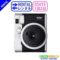 ☆レンタルチェキインスタントカメラ☆1泊2日フジフイルムinstaxmini90ネオクラシックチェキ