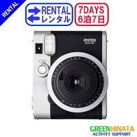 ☆レンタルチェキインスタントカメラ☆6泊7日フジフイルムinstaxmini90ネオクラシックチェキ