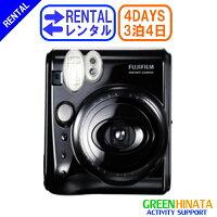 ☆レンタルチェキインスタントカメラ☆3泊4日フジフイルムinstaxmini50Sチェキ