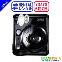 ☆レンタルチェキインスタントカメラ☆6泊7日フジフイルムinstaxmini50Sチェキ