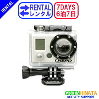 ☆レンタルオンボードカメラハイビジョン☆6泊7日GoProゴープロHDヘルメットモータースポーツヒーロービデオカメラ