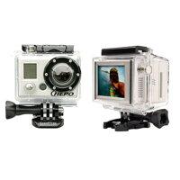 【レンタル】【6泊7日LCD1】ゴープロアクションカメラHEROHD1080+LCDGOPROHD1080+LCDハイビジョンアクションカメラLCD液晶付