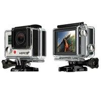 【レンタル】【6泊7日HERO3+Plus】ゴープロアクションカメラHERO3+BLACKGOPROHERO3+PlusWi-FiウェアラブルカメラLCD液晶付