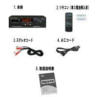 ☆レンタルCDカセットレコーダー☆3泊4日TASCAMタスカムCC-222SLMK2カセットデッキ