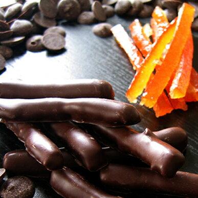 【チョコレート ギフト】オランジェット≪12本入り≫*ショコラ/オレンジ/母の日/チョコ/スイーツ/人気/お菓子/グレゴリーコレ/神戸みやげ