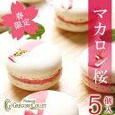 桜 スイーツ『マカロン 桜(SAKURA)5個入』桜のお菓子 桜マカロン サクラ さくらんぼ ギフト 春限定 お返し マカロン…
