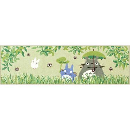 セール☆となりのトトロ キッチンマット(45×150cm)【なかよし・グリーン