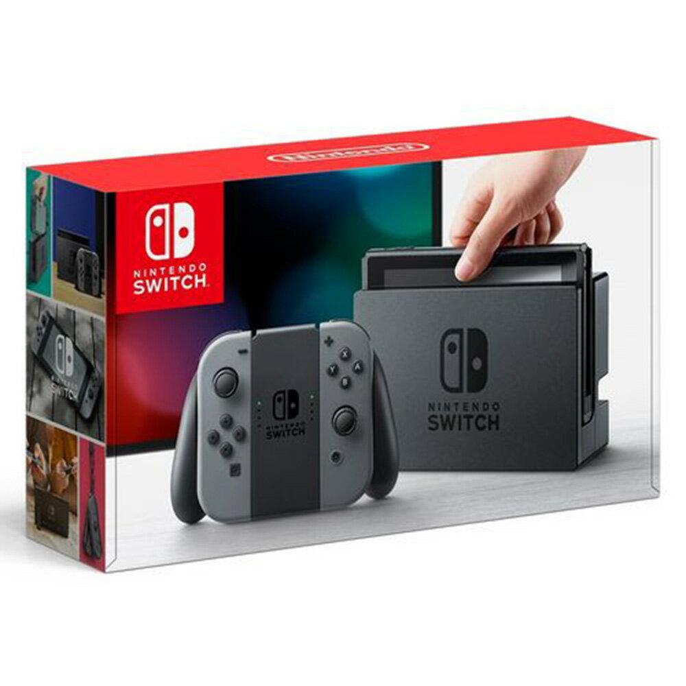 【在庫有り。送料無料】【あす楽】Nintendo Switch(ニンテンドースイッチ)本体 Joy-Con(L) グレー/(R) グレー 任天堂/ギフト/プレゼント