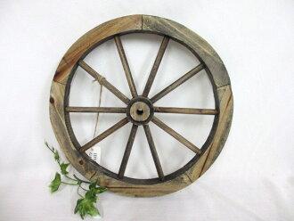仿古园林将 (S) 布朗 / / 国家小工具 & 园艺垃圾花园法国木制车轮 /posh40875