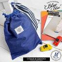 巾着袋 デニム Ocean&Ground オーシャンアンドグラウンド 1715920 Mサイズ 袋 バッグ 巾着 おしゃれ かっこいい かわいい ブランド 体操...