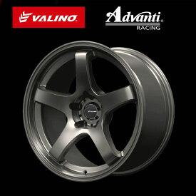 [ 在庫限り!数量限定!]VALINO ヴァリノGV330 ホイール17×9.5J 5H 114.3 INSET:+15カラー:マットガンメタ[ 1本 ]