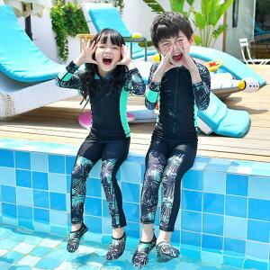 水着 2点セット 子供服 可愛い キッズ 男の子 女の子 ビーチ用品(T)