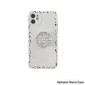 アイフォン スマホケース 英語 アルファ compatible for iPhone(T)