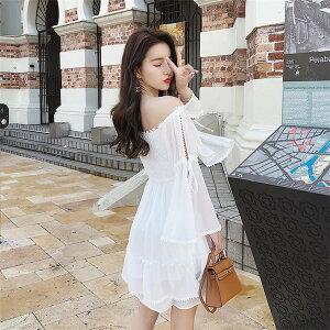 今からまで 韓国ファッション ワンピース ボートネック オフショルダー チューブトップ(T)