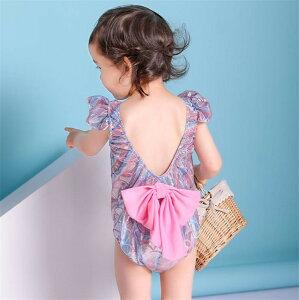 在庫処理 韓国ファッション 子供 水着 女の子 ワンピース水着 歳 可愛い ビキニ(T)