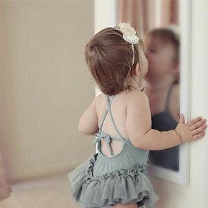 今年売れてます 子供 水着 レーヨン ワンピース 赤ちゃん 歳 女の子 シャム(T)