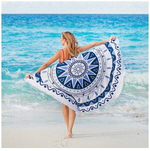 ビーチタオル大判円形ビーチマットレジャーシートビーチラグラウンドヨガラグインテリア大きいビーチタオルラグラウンドタオルラウンドマット丸いおしゃれインスタ映えSNS映えサークルタオル円形タオルマルチカバー流行海プールピンク白黒