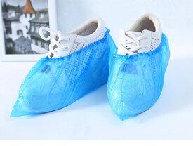 シューズカバー 使い捨て 100枚セット 雨天 防水 PE素材 靴カバー 汚れ防止 ポリエチレン レインシューズカバー 携帯靴カバー [J](T)