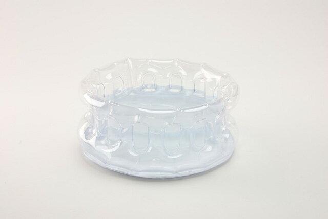 日本製 携帯用洗面器クリア 1022527 4点までメール便OK (je1a185)