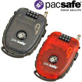 防犯用 PacSafe パックセーフ 250-4ダイアルリトラクタブル ケーブルロック 12970051(PE241) 3点迄メール便OK(ei0a032)
