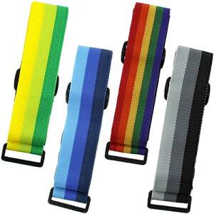 マジックテープで留める長尺スーツケースベルト9007
