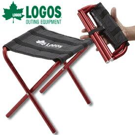 ロゴス 折りたたみ 椅子 7075 ポケットスツール チェア レッド コンパクト 軽量 持ち運び アウトドア キャンプ レジャー ベランピング LOGOS 731750(ro0a038)【あす楽対応】