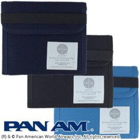 PAN AM パンナム トラベル ウォレット 財布 2つ折り メンズ レディース 515013 2点迄メール便OK(je1a386)*バレンタイン ギフト