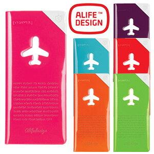 チケットケース シールド トラベル オーガナイザー チケットホルダー 貴重品入れ カード 航空券 スキミング防止 おしゃれ カラフル ギフト ALIFE アリフ ハッピーフライト sncf-123 3点迄メール