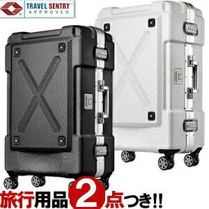スーツケース キャリーケース キャリーバッグ L サイズ フレーム TSAロック ダイヤル式 フック ビジネス 出張 メンズ かっこいい ポリカーボネイト T&S レジェンドウォーカー LEGEND WALKER 6303-62 (
