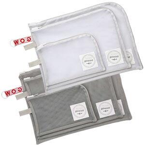 衣類がそのまま洗える収納ポーチ 3点セット(S、M、L) GW-0706 2点迄メール便OK(go0a161)
