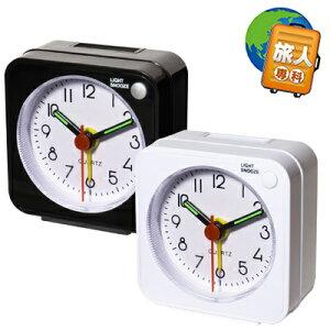 旅人専科シリーズ旅先にもっていけるトラベルミニクロックMBZ-CLK016ヶ月保証電池別売りアナログ時計(mi1a470)