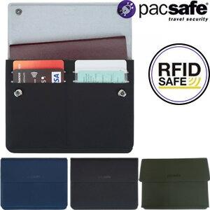 [送料299円〜]「tc4」防犯用!PacSafe(パックセーフ) RFIDsafeTECパスポートウォレット(カード収納付パスポートケース) 12970205 2点迄メール便OK(ei0a231)