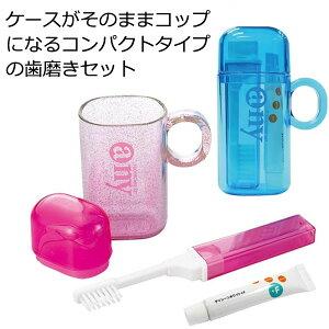 【日用雑貨・日本製グッズ】日本製 歯磨きセット エニイ・セット 1-05019(iw0a001)