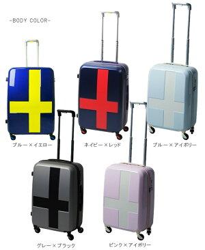 TRIO(トリオ)innovator(イノベーター)48cmINV48・INV48TTSAロック搭載4輪スーツケース2年保証付きジッパー機内持ち込み(to4a038)