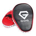 GronG(グロング) パンチングミット ボクシング ミット 格闘技 ボクササイズ 左右セット 湾曲型