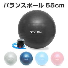GronG(グロング) バランスボール 55cm 耐荷重200kg アンチバースト仕様
