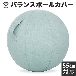 【9日20時からポイント最大20倍】GronG(グロング) バランスボール カバー 直径55cm対応