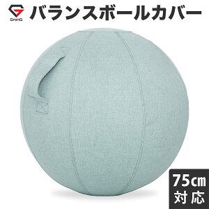 【9日20時からポイント最大20倍】GronG(グロング) バランスボール カバー 直径75cm対応