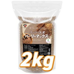 【レビューで特典GET】GronG(グロング) 大麦 スーパー大麦 バーリーマックス 2000g 食物繊維 押麦 もち麦