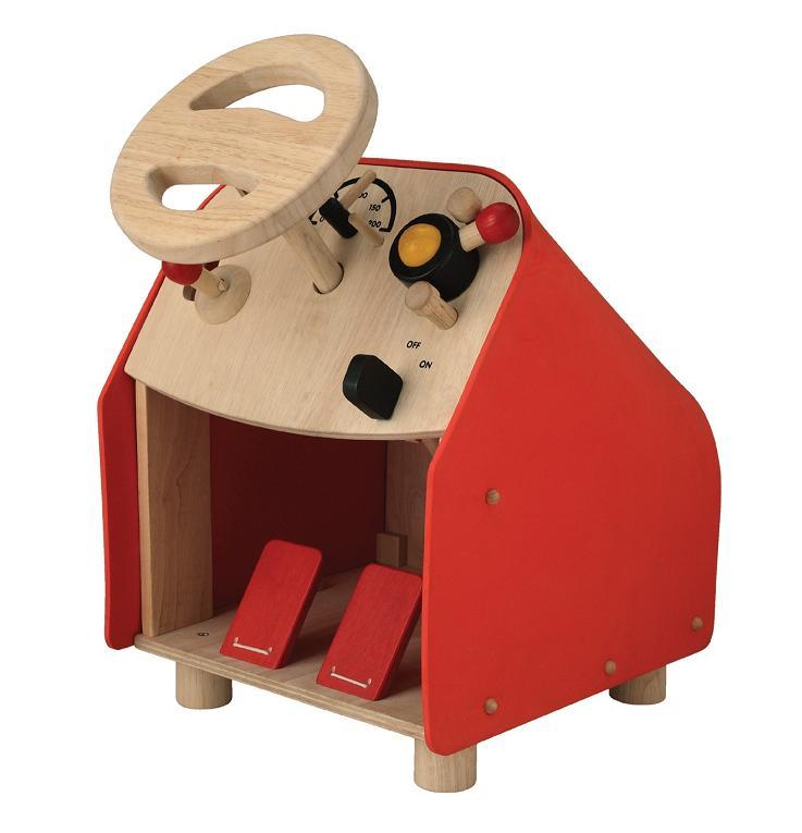 プラントイ 木のおもちゃ PLANTOYS ドライビングシート運転ごっこ 車 木製玩具