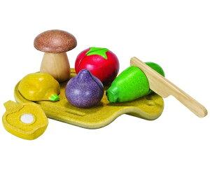 プラントイ 木のおもちゃ PLANTOYS ベジタブルセット 野菜 おままごとセット プランウッド 木製玩具
