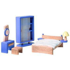 プラントイ 木のおもちゃ PLANTOYS ドールハウス デコーベッドルーム おままごとに 木製玩具