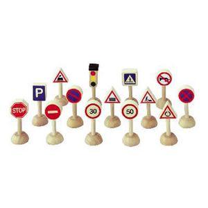 プラントイ 木のおもちゃ PLANTOYS 交通標識と信号のセット 日本 木製玩具 【あす楽対応】