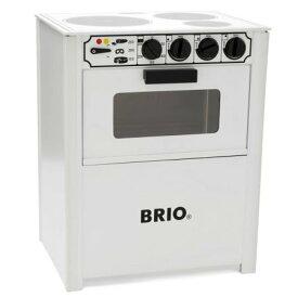BRIO(ブリオ) 木のおもちゃ レンジ 白 ままごと キッチン