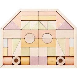 木のおもちゃつみきのいえL日本製積み木積木木製玩具知育玩具